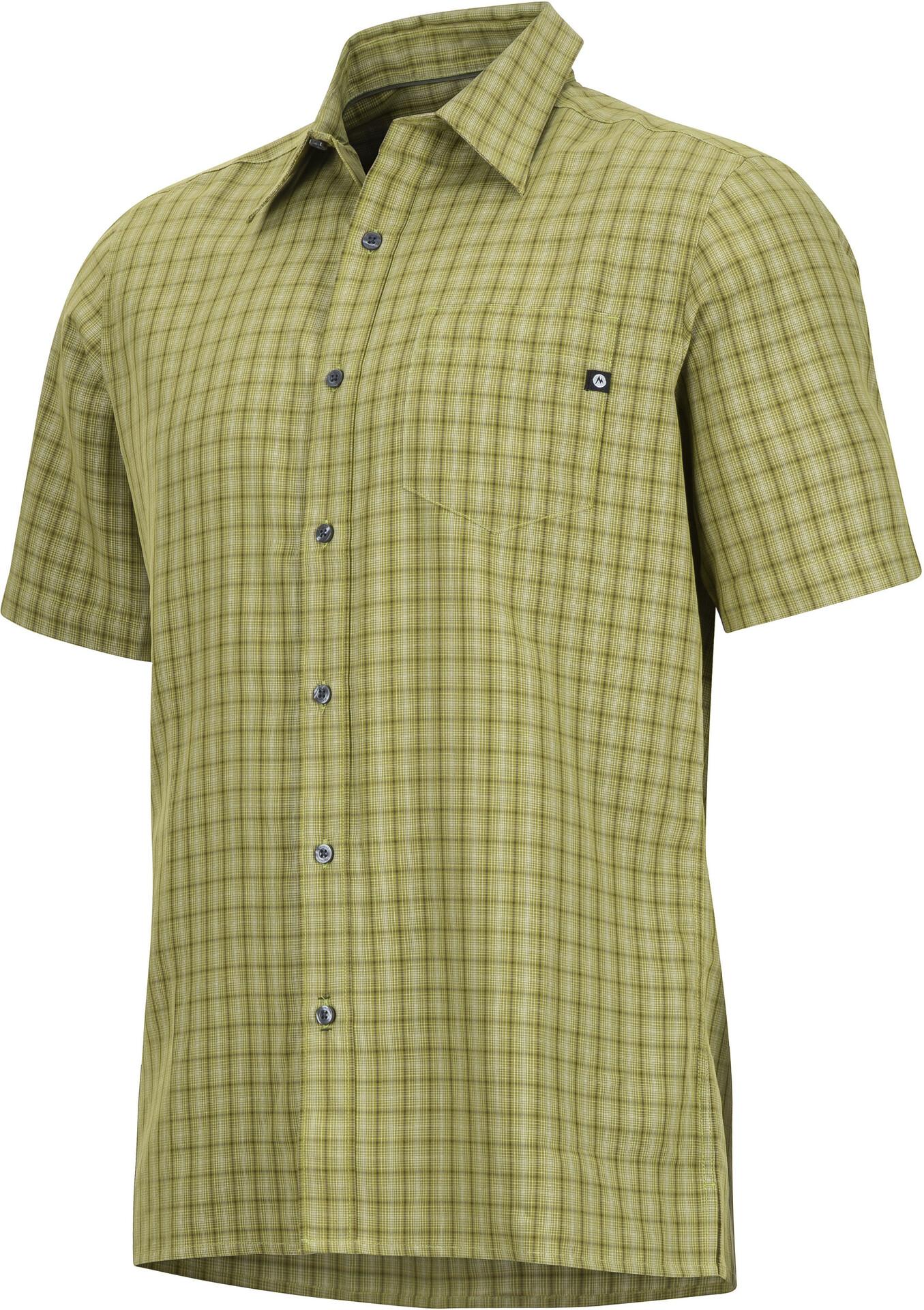 Marmot M's Eldridge SS Shirt Shirt Shirt Wheatgrass 8e8d39